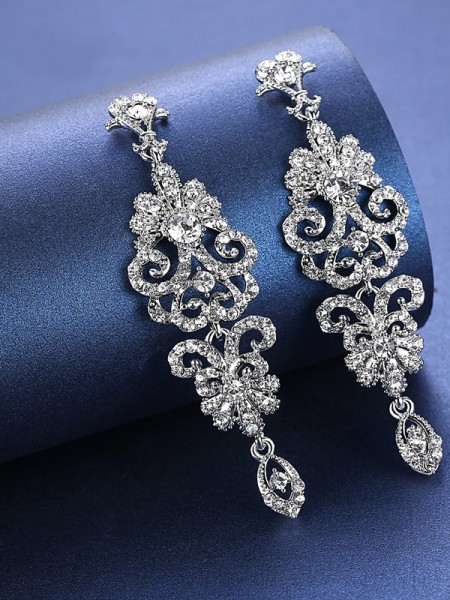 Charming Strass Ohrringe For Wedding Bridal