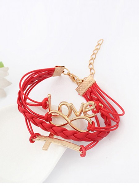 Korean version Romantic Password love Cross Heißer Verkauf Armbänder